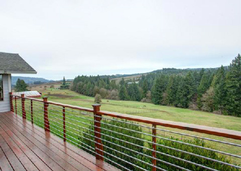 View from the deck at 20001 SW Chapman Road, Sherwood, Oregon