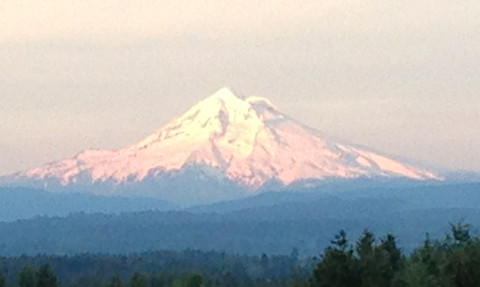 Mt. Hood, from the west
