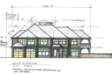 706 McVey Front Elevation